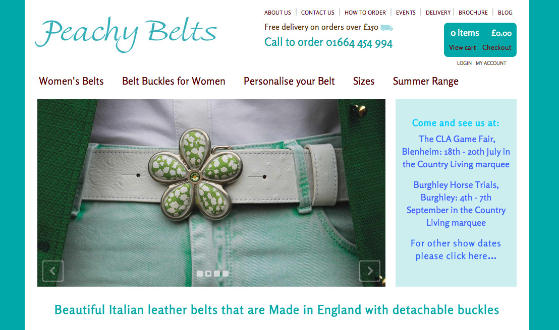 peachy belts